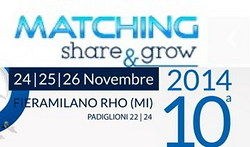 Simone Micheli a Matching Share & Grow