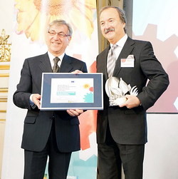 Blue Life di VitrA vince l'European Business Award for the Environment
