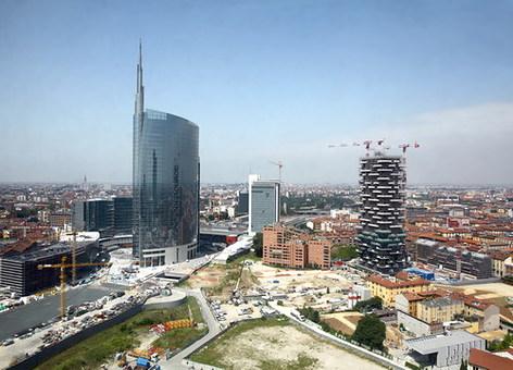 La torre unicredit impiega isolanti mappy italia design & contract
