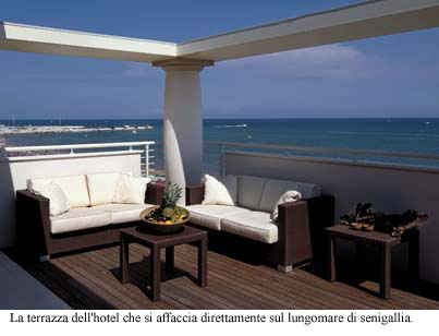 TERRAZZA MARCONI HOTEL & SPAMARINE | Design & Contract