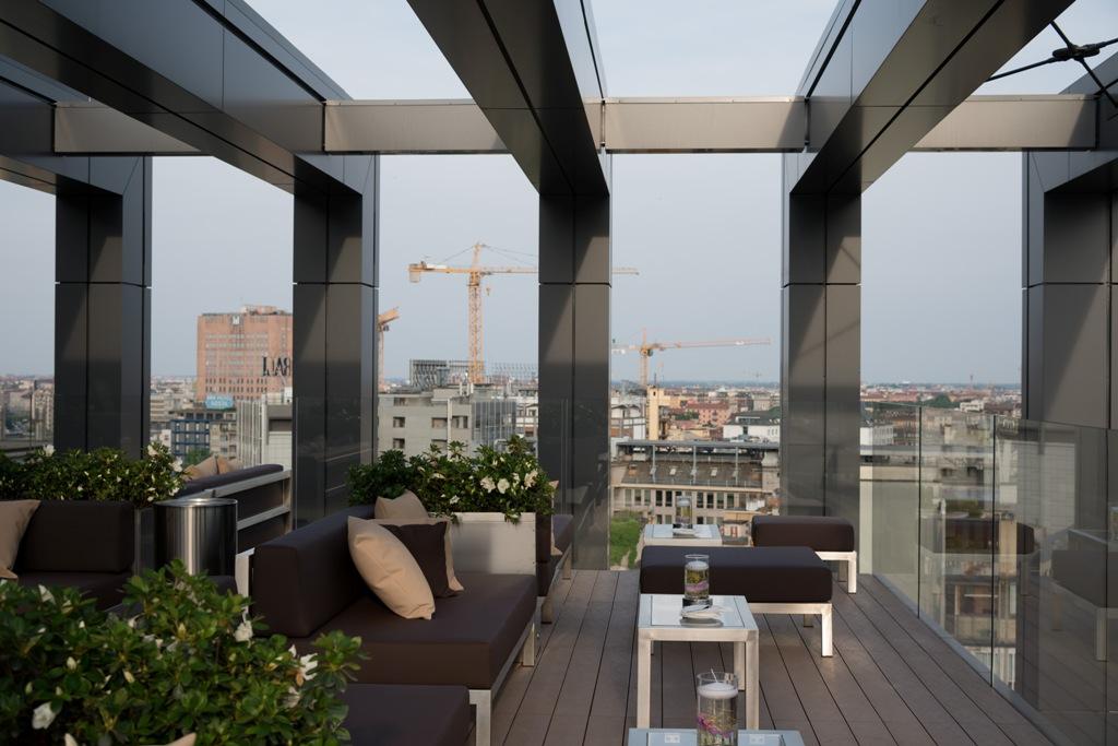 Lagare hotel milano centrale design contract il for Kos milano ristorante