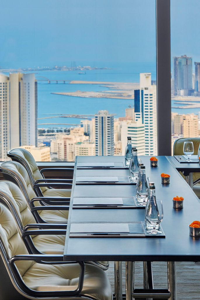 Four seasons bahrain bay design contract for Sozzi arredamenti