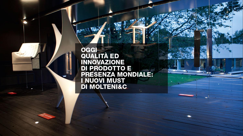 Molteni c design contract for Unifor spa