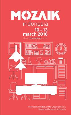 Mozaik Indonesia, the international trade show for lifestyle interior, design and project