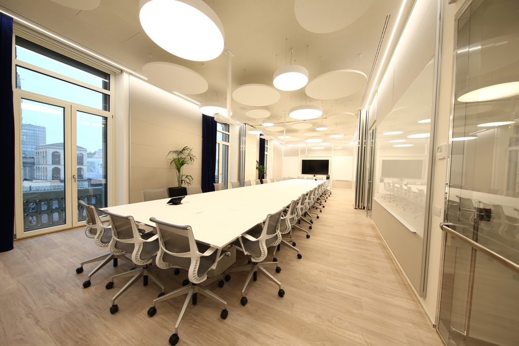 The boston consulting group milano design contract for Ufficio design milano