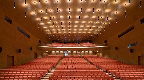 Poltrona Frau Contract for Roma Convention Center | Design&Contract ...