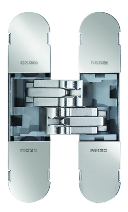 The new Fibra3D concealed hinges series by Ceam