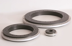 Rotary table bearings for design applications