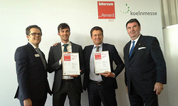 ICA Group premiata con l'Interzum Award Intelligent Material&Design 2017