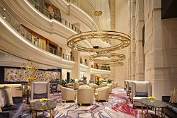 HBA completed the first phase of the redesign of the Shangri-La Hotel Dubai