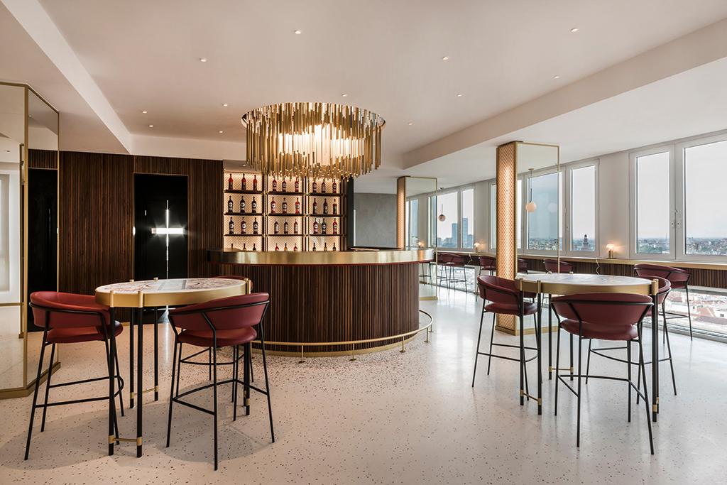 Terrazza martini design contract for Terrazza design